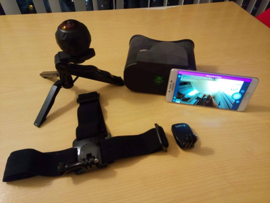 360 camera equipment